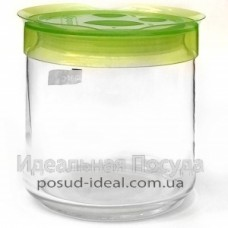 Банка для сыпучих 0,75л Luminarc Storage Box Green