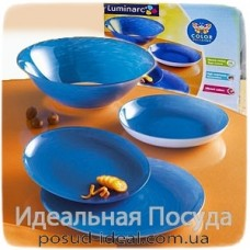 Сервиз столовый Luminarc Stonemania Blue 19 пр (6 пер)